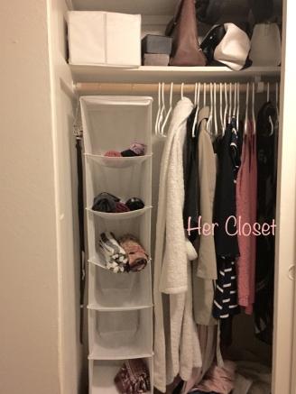TKL her closet